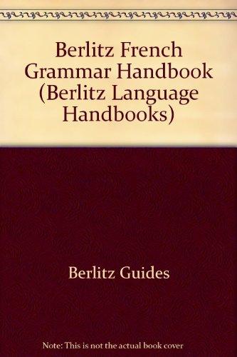 Berlitz: French Grammar Handbook