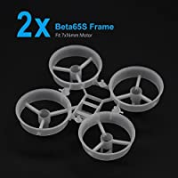 BETAFPV 2pcs Beta65S 65mm Whoop Frame Kit Upgrade Version Compatible for 716mm Motor by BETAFPV