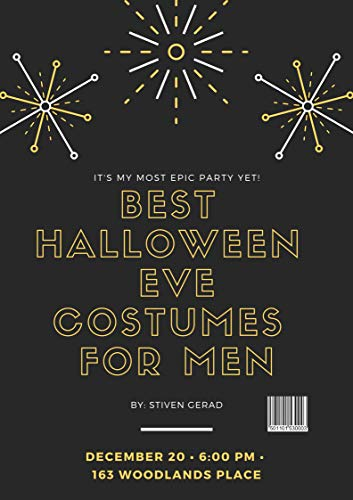 BEST HALLOWEEN  Eve COSTUMES FOR MEN (English Edition)