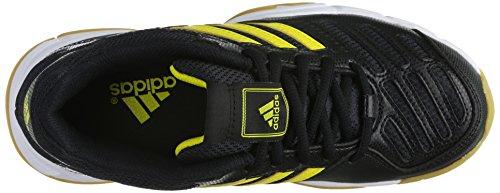 adidasBt Boom - Scarpe Sportive Indoor Unisex – Adulto Schwarz (BLACK1/VIVYEL/RUNWHT)