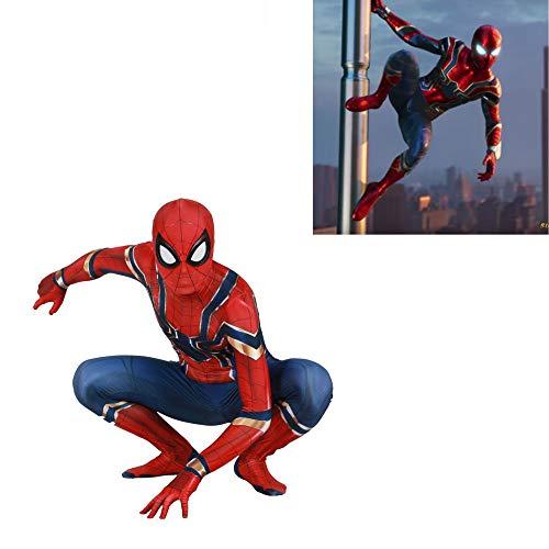 Spider Jungen Mann Kostüm - Spiderman Kostüm Kinder, Spiderman-Kostüm Cosplay Scherzt Jungen - Childb Kostüme des Mädchens 3D Entsprechen Erwachsenen Männern Spandexhalloween Der Jungen,Child-M