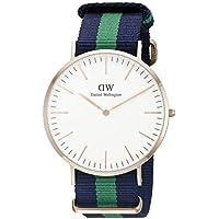 Daniel Wellington 0105DW Classic Warwick, orologio da polso, Uomo - Quadrante Blu Unisex