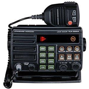 Standard Horizon VLH-3000A 30W Dual Zone PA/Loud Hailer/Fog w/Listen Back & 2 Optional Intercom Stations (30-watt-loud Hailer)