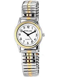 Excellanc Damen-Armbanduhr XS Analog Quarz verschiedene Materialien 170012000013