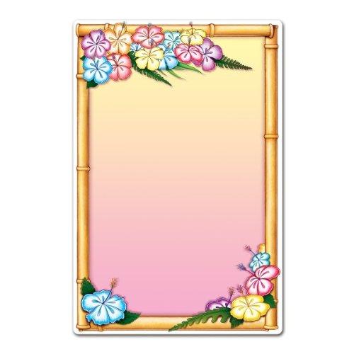 Beistle 54154Luau Menu Board, 21-1/4by 13-1/2 Braten Board