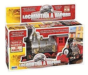 RONCHI SUPERTOYS RSToys Locomotora a Vapor, Sonidos y Luces, Multicolor, 10461