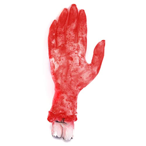 Anladia Halloween Schocker Horror Kühlschrank Splatter Partydeko Blutige Kostüm blutige Hand (Für Schocker Kostüm Halloween)