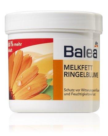 Balea Melkfett Calendula Gel-Creme - Schützt die Haut gegen Umweltschäden / Stress aus Kälte, Wind, Regen usw. - 250ml (nicht an Tieren...