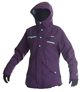 Billabong Jenny Women's Snowboarding Jacket - Arsenic Size:grand