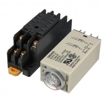 Hohe Qualität H3Y -2 220V Power On Time Delay Relay Solid-State- Timer SPDT Sockel