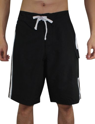 feed MLB Hommes Chicago Blanc SoxAthletic Sport Shorts de bain Black