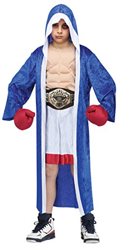 Child Lil' Champ Boxer Fancy dress costume Large (12-14) (Boxer Fancy Dress Kostüm)