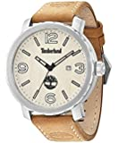 Timberland Men's Brown Leather Strap Watch
