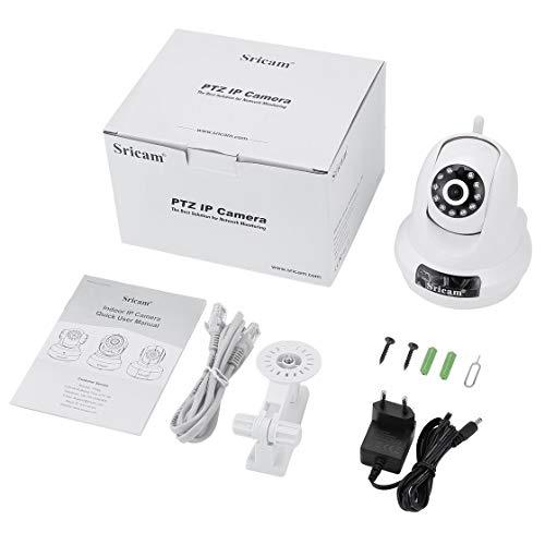 Sricam PTZ IP-Kamera 1080P HD Pfanne 355 ° Neigung 90 ° Wireless Überwachungskamera 2.0MP WiFi Überwachung Home Monitor Bewegungserkennung