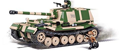 COBI 2496 Spielzeug Konstruktionsspielzeug-Panzer, Grün, Baige