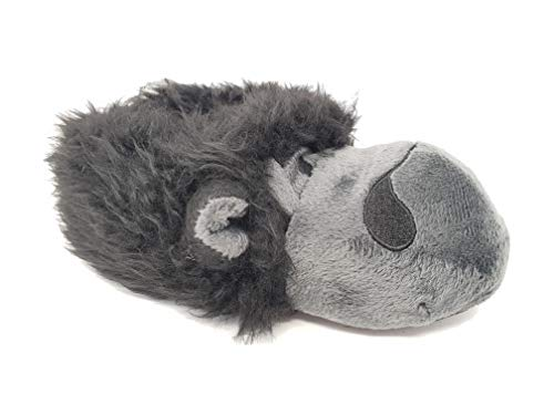 Carcassi Boys Girls Kids Fun Novelty Gorilla Slippers Winter Cosy