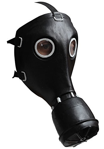 Gasmaske GP-5 schwarze Latex