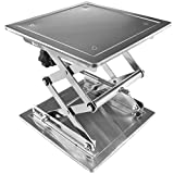 ENET 20x 20cm in Acciaio Inox Lift controsoffitto Piattaforma Jack Lab Laboratorio