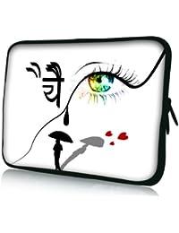 Luxburg® design housse sacoche pochette pour ordinateur portable 10,2 pouces / 12,1 pouces / 13,3 pouces / 14,2 pouces / 15,6 pouces / 17,3 pouces
