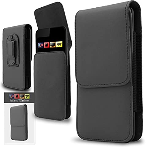 IWIO Blackberry Storm 9530 Grau PU Leder Schutztasche Gürtel Magnetische Holster Schlag Fall Haut Abdeckung