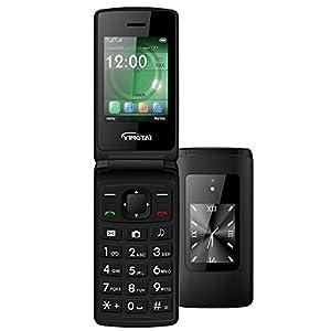 Telefoni Cellulari a Conchiglia per Anziani con Tasti Grandi con Doppio Schermo by YINGTAI T30 2G