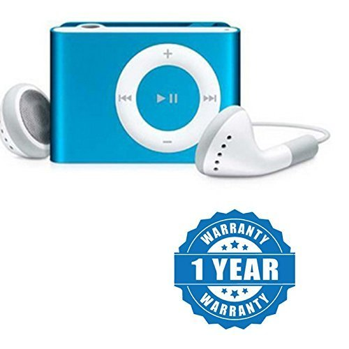 Twogood Stylish Metal Design MP3 Player with TF/SD Card Support great for Outdoors, Gymming and Jogging Compatible With Xiaomi Mi, Apple iPhone & iPad, Samsung, Sony, Lenovo, Oppo, Vivo and All Smartphones (1 year Warranty, Assorted Colour)  available at amazon for Rs.369