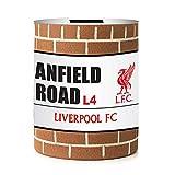 Liverpool FC - Salvadanaio con cartello e muro (Taglia unica) (Multicolore)