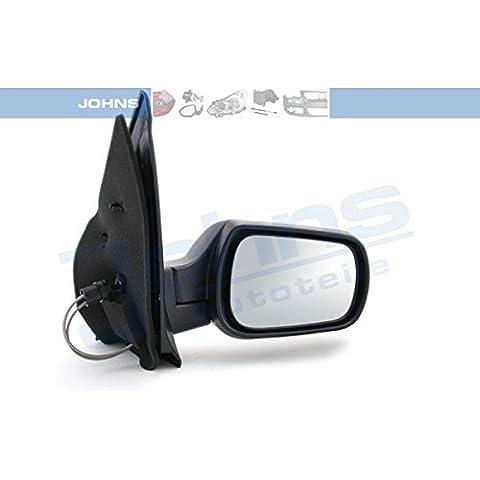 Specchietto Esterno Destro, Nero, Ford Fusion (ju _) 1.408/2002-59/80kW/PS, 1388cc