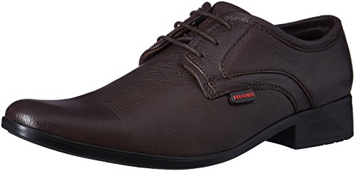 Red Chief Men's Brown Leather Formal Shoes - 6 UK/India (39 EU)(RC1346A)