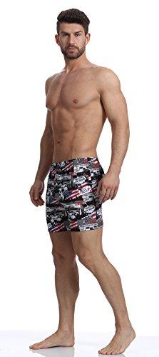Cornette Herren Klassisch Boxershorts CR 001 2016 Muster-26