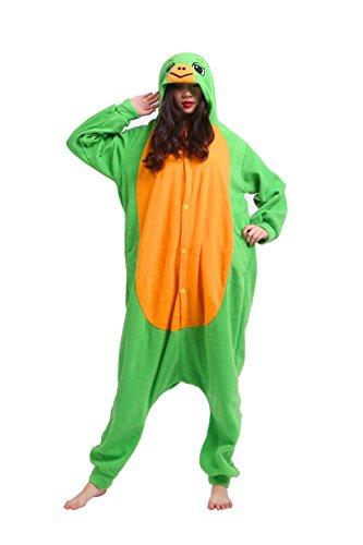 Imagen de yuwell animal carnaval disfraz cosplay pijamas adultos unisex ropa de noche, tortugas m height 160 170cm