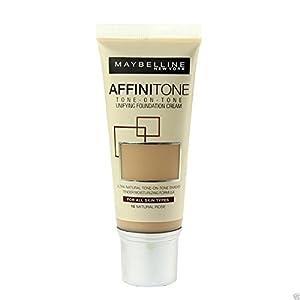 2 x Maybelline Affinitone Unifying Foundation Cream 30ml - 18 Natural Rose