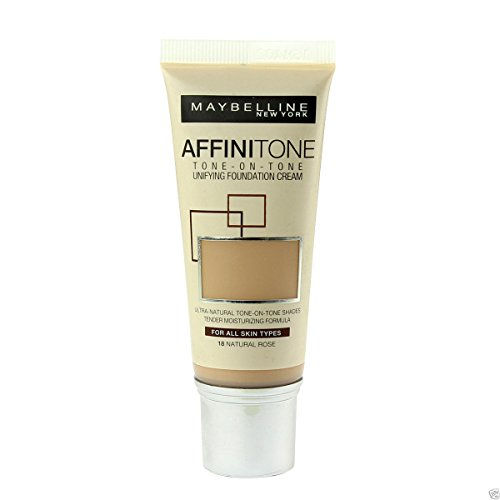 Maybelline Affinitone Unifying Foundation Cream (18 Natural Rose) 30 ml