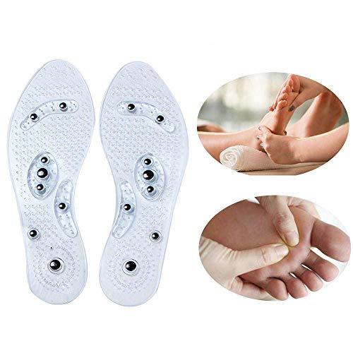 Masaje magnético de Pivica Plantillas de calzado, adelgazamiento y pérdida de peso Masaje Plantillas de acupresión magnética Alivio para el dolor de espalda Músculo relajante para mujeres y hombres
