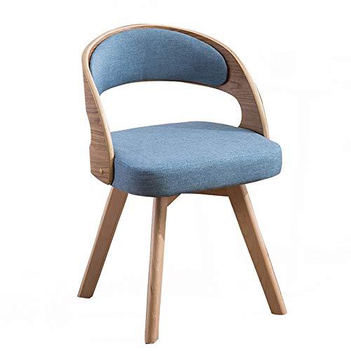 Balcon minimaliste moderne table de loisirs Nordic chambre bois massif chaise 7 couleurs en option (Couleur : G)