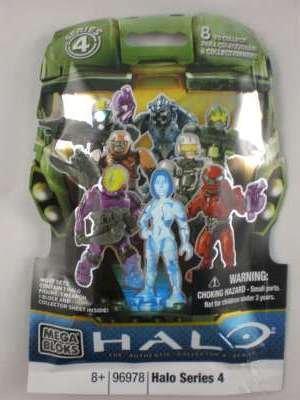 Halo Mega Bloks Series 4 Foil Pack (1 supplied)