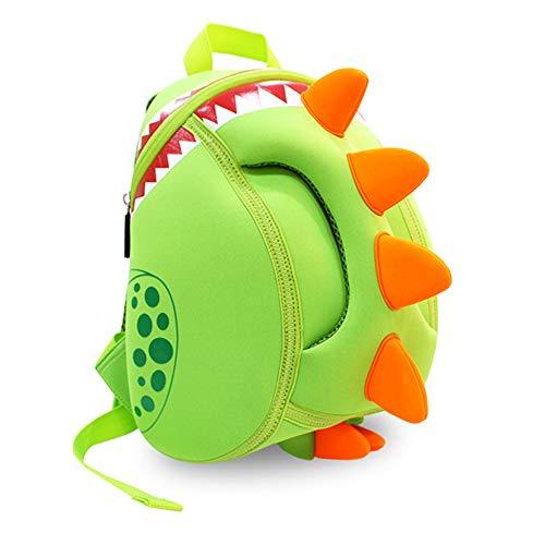 Georgie Porgy 3D Mochila Infantiles Animal Bolsas Escolares de Niños Niñas Dinosaurio