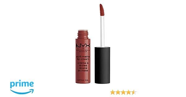 NYX Soft Matte Lip Cream, Berlin, 1er Pack (1 X 8 Ml): Amazon.de ...