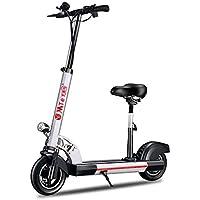 Adulto Bicicleta Eléctrica Plegable 10 Pulgadas, Batería De Litio De 36V 500W Hombres Y Mujeres