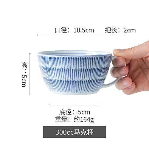 MK MUG Süße Milchbecher Cartoon Keramikbecher Teetasse - Fine Ten Grass 330Ml - Fine China Shaker