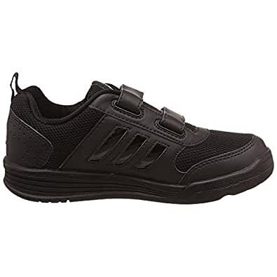 46a3119e2e21 ... Adidas Black school shoes for boys - Kids shoe range (Shoe Size -4    India )