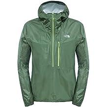 North Face M Fuseform Cesium Anorak - Chaqueta para hombre, color verde, talla XL