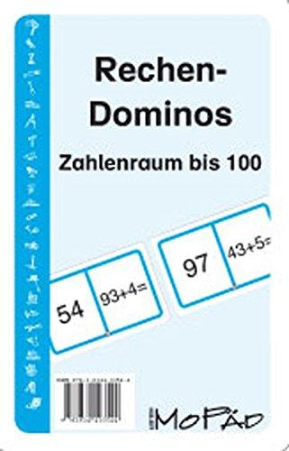 Rechen-Dominos: Zahlenraum bis 100: 1. und 2. Klasse