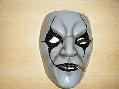 (Jim Root–Grau–Slipknot Stil Maske)
