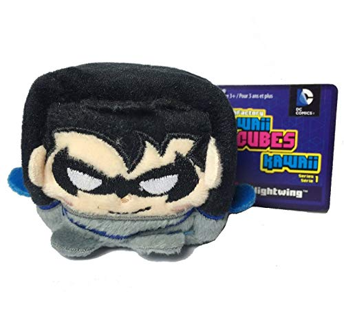 DC Comics Kawaii Cubes Nightwing - Small Plush Collectible