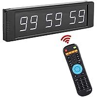 7f33f22d66207e Garosa 1 in Montre LED Chronomètre Multifonctionnel Portable Compte à  rebours Montre d alarme monté