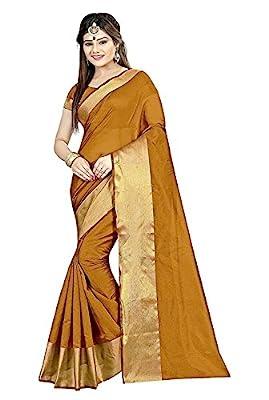 Sunshine Fashion Women's Saree With Blouse Piece