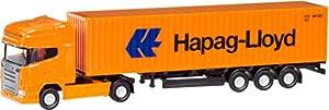 Herpa 66723 Scania R TL contenedor semitrail Hapag Lloyd, Color