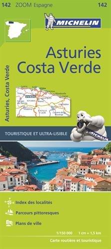 Carte Asturies, Costa verde Michelin