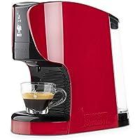 Bialetti Opera Macchina da Caffè Espresso per Capsule in Alluminio sistema Bialetti il Caffè d'Italia, Rossa